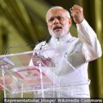 The Prime Minister, Shri Narendra Modi addressing the gathering at the Indian Community Reception Event, at Singapore Expo, Singapore on November 24, 2015.