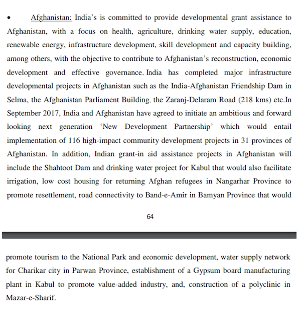 Afghanistan_Parliamentary Report
