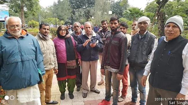 Civil Society members met Rohtak SP on Tuesday for impartial probe_650